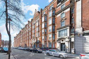 York Place Mansions, Baker Street, W1U